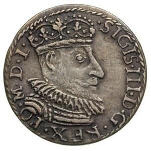 trojak 1592, Olkusz, Popiersie króla w prawo i napis wo...