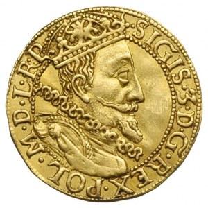 dukat 1610, Gdańsk, Aw: Popiersie króla w prawo i napis...