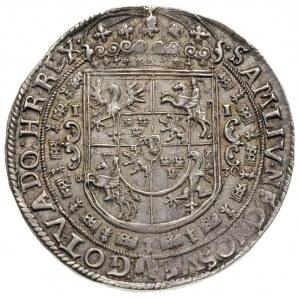 talar 1630, Bydgoszcz, Aw: Szerokie popiersie króla w p...