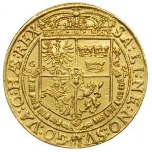 pięciodukatówka 1642, Bydgoszcz, Aw: Popiersie króla w ...