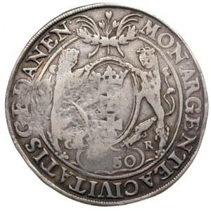 talar 1650, Gdańsk — z kontrasygnaturą moskiewską Aleks...