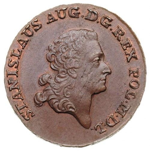 trojak 1794, Warszawa, Aw: Głowa króla w prawo i napis ...