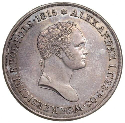 10 złotych 1827, Warszawa, Aw: Orzeł Królestwa Polskieg...
