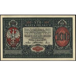 100 marek polskich 9.12.1916, \jenerał, seria A