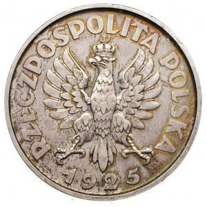 5 złotych 1925, Warszawa, \Konstytucja\ odmiana stuper...