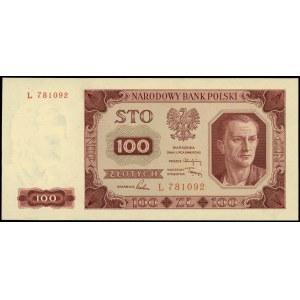 100 złotych 1.07.1948, seria L, numeracja 781092, Lucow...