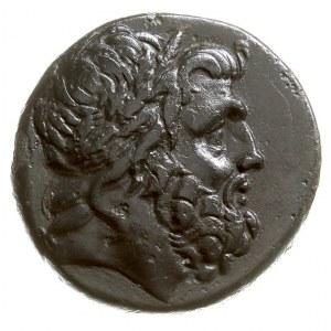 Pont, Amisos, 85-65 pne, AE-26, Aw: Głowa Zeusa w prawo...
