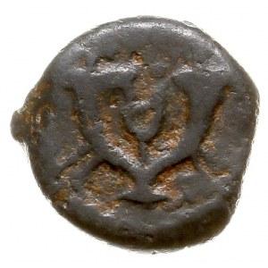 Judea, Herod I 40-4 pne, prutah, Aw: Kotwica, wokoło ΗΡ...
