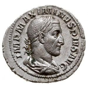 Maksymin I Trak 235-238, denar, Aw: Popiersie w prawo, ...