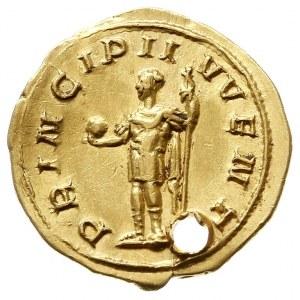 Filip II Arab 244-247, aureus, Aw: Popiersie w prawo, M...