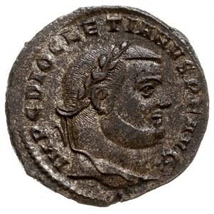 Dioklecjan 284-305, folis 299-300, Antiochia, Aw: Głowa...