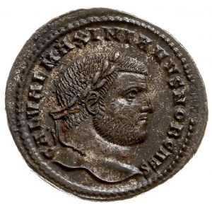 Galeriusz Maksymianus 293-311, follis 297-299, Cyzicus,...