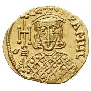 Leon III, Konstantyn V i Leon IV 751-775, solidus 751-7...
