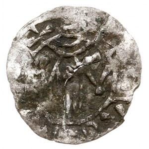 Emisja anonimowa, obol, koniec X wieku, Aw: Dłoń opatrz...