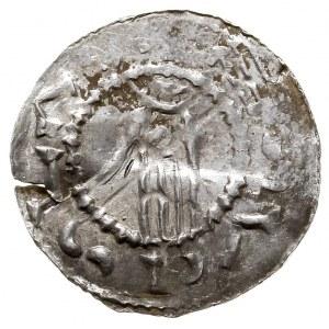 Brzetysław I jako książę Moraw, denar 1028-1034, Ołomun...