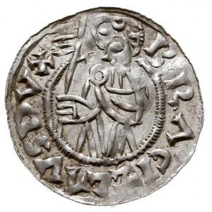Brzetysław I 1037-1055, denar przed ok. 1050, Aw: Popie...