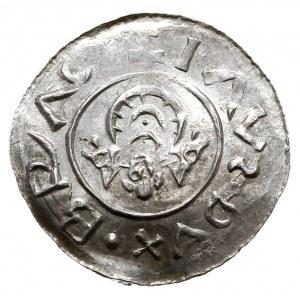 Brzetysław I 1037-1055, denar przed ok. 1050, Aw: Herb,...