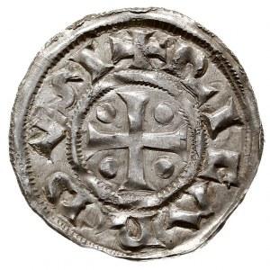 Normandia, Ryszard I 943-966, denar, Rouen, Aw: Krzyż, ...