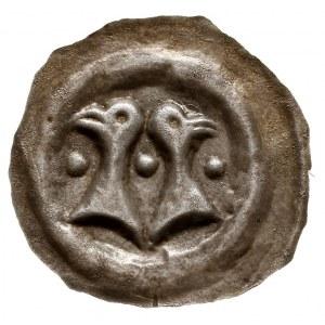 Dolne Łużyce /Niederlausitz/, brakteat (XII-XIV); Dwie ...
