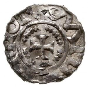 Dortmund, Otto III 983-1002, denar, Aw: Krzyż z kulkami...
