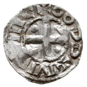 Kolonia /Köln/, Otto III 983-1002, denar, Aw: Monogram ...