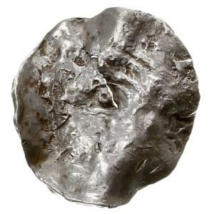 Maastricht?, naśladownictwo denara Henryka II, Aw: Niew...