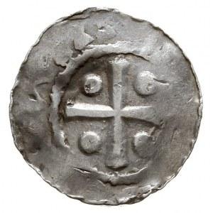 Moguncja /Mainz/ ?, Otto I 936-973 ?, denar, Aw: Kaplic...