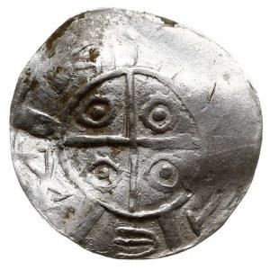 Zestaw denarów niemieckich z końca X i początku XI wiek...