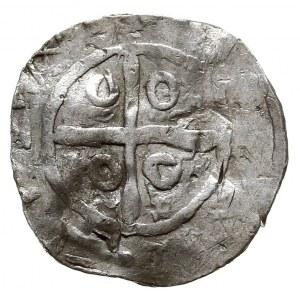 Hybrydalne naśladownictwo denara saskiego i anglosaskie...