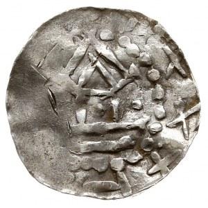 Hybrydalne naśladownictwo denara saskiego i kolońskiego...