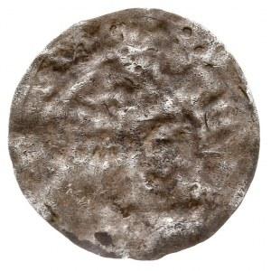 Bolesław I Chrobry 992-1025, denar jednostronny typu \P...