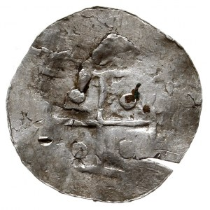 Bolesław I Chrobry 992-1025, nieznana odmiana denara łą...