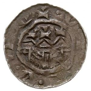 Władysław I Herman 1081-1102, denar, Aw: Głowa w lewo, ...