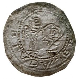 Bolesław III Krzywousty 1107-1138, brakteat protekcyjny...