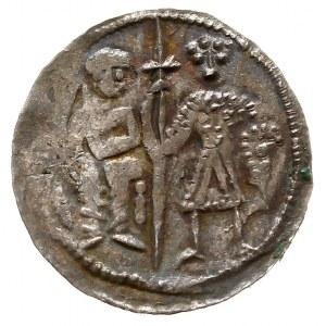 Bolesław III Krzywousty 1107-1138, denar, Aw: Biskup z ...