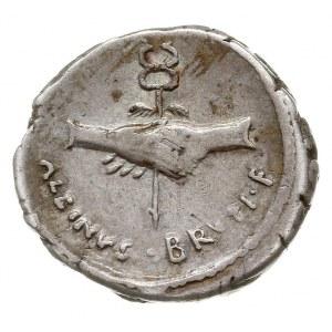 denar, Rzym, Aw: Głowa Pietas w prawo, za niąPIETAS, R...