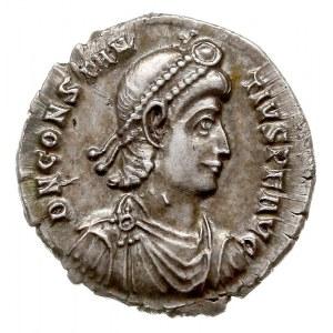 siliqua 351-361, Sirmium, Aw: Popiersie cesarza w prawo...