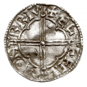 denar, typ Quatrefoil, mennica Bruton, mincerz Aelfelm,...