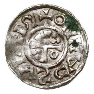 denar 1009-1024, Aw: Popiersie w prawo, H-NI-RI-CV-IR-X...