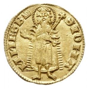 goldgulden 1342-1353, Aw: Lilia, LODOVICI REX, Rw: Post...