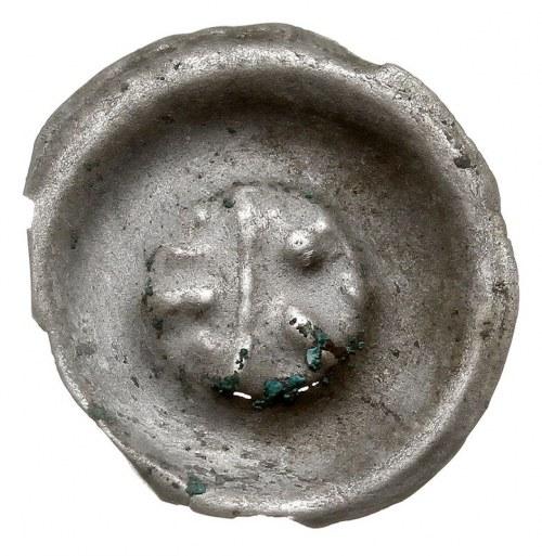 brakteat, Pół orzeł - pół klucz, srebro 0.35 g, Fbg 657