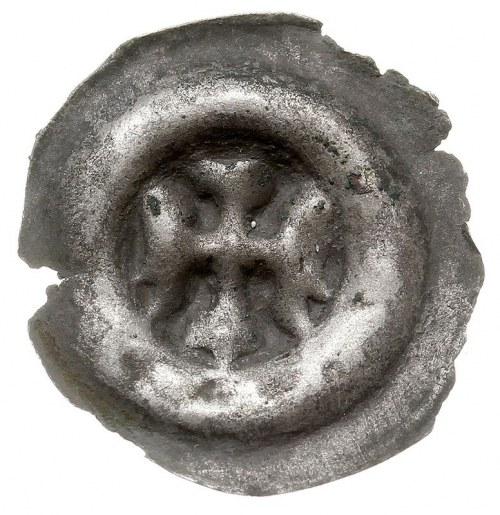 brakteat, Orzeł w lewo, srebro 0.35 g, Fbg 791