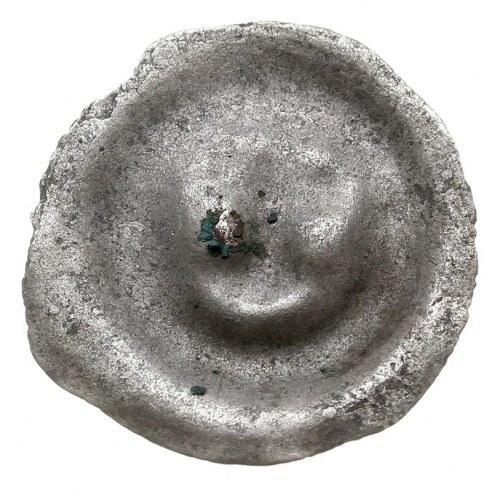 brakteat, Potrójna roślina, srebro 0.33 g, Fbg 1017