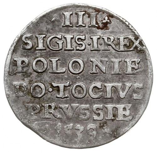 trojak 1539, Elbląg, Iger E.39.1.c (R2)
