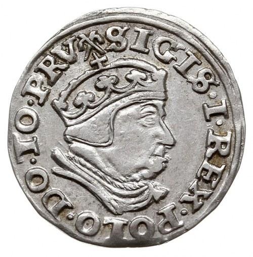 trojak 1540, Gdańsk, Iger G.40.1.c/a (R1)