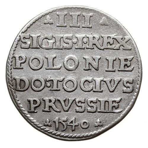 trojak 1540, Elbląg, Iger E.40.1.a (R2)