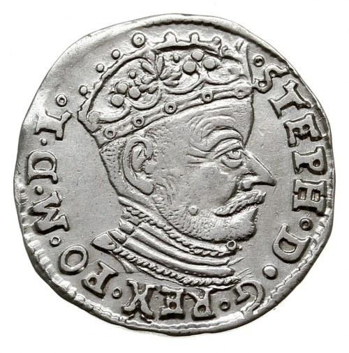 trojak 1581, Wilno, bez herbu podskarbiego, Iger V.81.2...