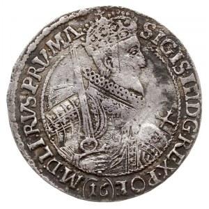 ort 1621, Bydgoszcz, odmiana z (16) pod popiersiem, Sha...
