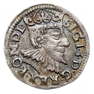 trojak 1594, Poznań, Iger P.94.4.b, tęczowa patyna