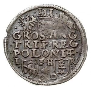 trojak 1596, Poznań, Iger P.96.3.a (R1), na awersie num...